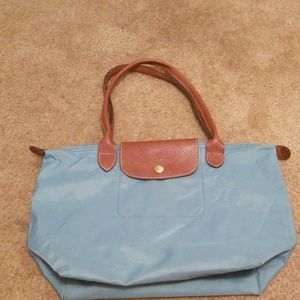 Longchamp medium le pliage tote bag